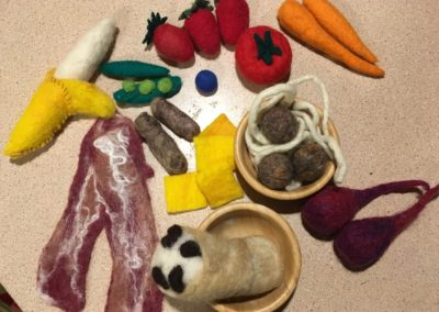 Felted Food
